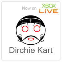 Dirchie Kart, XNA kart racer game now on XBox Live Indie Games